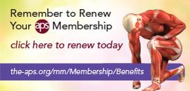 Renew Your APS Membership
