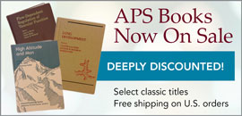 APS Books Now On Sale