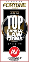 Fortune Magazine's 2012 Top Ranked Law Firms