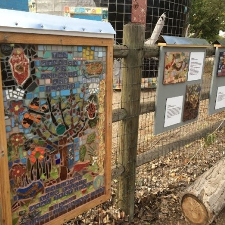 students-blend-art-science-community-garden