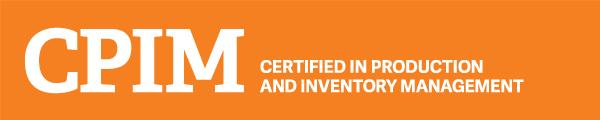 APICS CPIM Certification